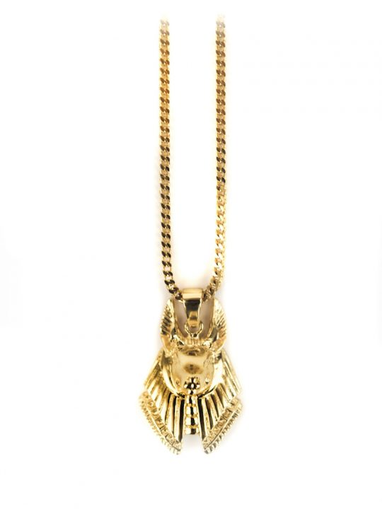Anubis Piece Necklace, chain necklace, gold chain, necklace
